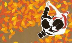 Tangokarte Herbst