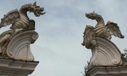 Drachenskulptur