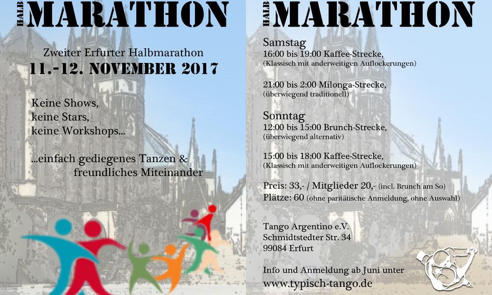 Karte Halbmarathon